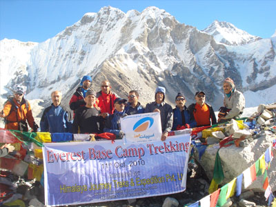 Everest Base Camp Trekking  » Click to zoom ->